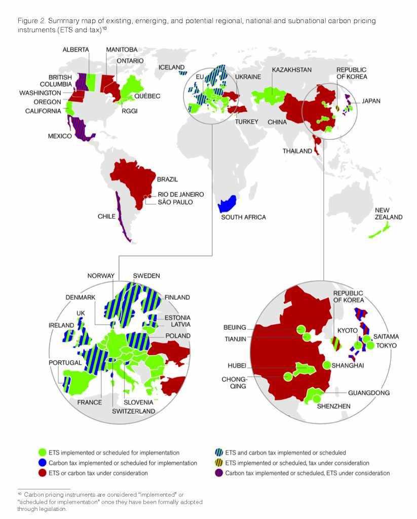 carbon map